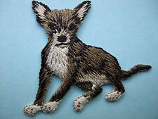 IRON-ON EMBROIDERED PATCH - CHIHUAHUA #3 - DOG