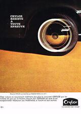 PUBLICITE  1971   CRYLOR   tapis moquette