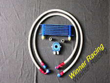 50mm 7 row AN-10/AN10 engine transmission oil cooler hose filter relocation