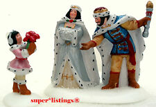 Dept. 56 Crystal Ice King & Queen Limited Edition 25th Anniversary Design 58976