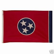 5 x 8 ft TENNESSEE The Volunteer State OFFICIAL FLAG OUTDOOR NYLON MADE IN USA