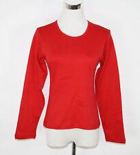 James & Nicholson Mujer Camisa Manga Larga Rojo Talla S NUEVO