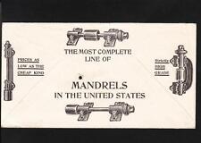 American Saw Mill Machinery Hackettstown NJ c1915 Illustd Both Sides Mandrels n