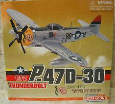 """Dragon P-47D-30 Thunderbolt 362nd FG """"Five By Five"""" Pilot Col. J L Laughlin 1:72"""