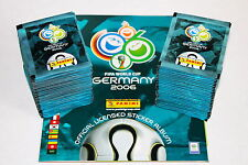 PANINI WC WM GERMANY 2006 06 – 200 POCHETTES PACKETS bustine sobres + album, Comme neuf!