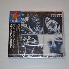 ROLLING STONES - Emotional rescue - 1998 CD JAPAN LTD. EDITION NEW & SEALED