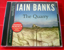 Iain Banks The Quarry MP3-CD UNABRIDGED Audio Book Peter Kenny