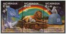 Timbres Animaux ONU Nicaragua 2016/8 ** lot 23303