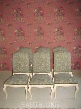 Ethan Allen Set Of 6 Upholstered Country French Legacy Dining Room Chairs 7059