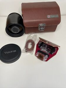 Tokina RMC 500mm 1:8 Vintage Camera Lens with Case To Fit Olympus Japan Accessor
