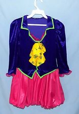 Awesome & Chic Disney Character-Like Velour Bubble Hem Dress Girls Size Medium
