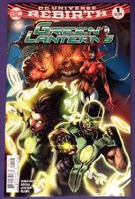 Green Lanterns 1 September 2016 9.4-9.6 Nm/Nm+ Dc Comics 2Nd Printing Variant!