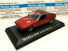 IXO ALTAYA 1/43 MATRA SIMCA BAGHEERA S 1977 NUESTROS QUERIDOS COCHES DIECAST CAR
