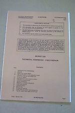 CLANSMAN PRC320 EMER TECHNICAL HANDBOOK FIELD REPAIR, F594P2