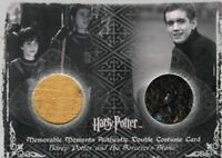 Harry Potter Memorable Moments 2 Harry Oliver Double Costume Card HP C7 #116/430