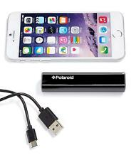 Polaroid 2200 mAh Smarphone Portable Charger Stick, Black