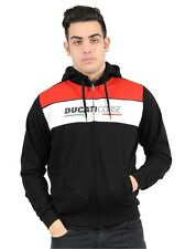 Official Ducati Corse Black Zip Up Hoodie - 16 26005