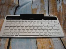 "Samsung ECR-K10AWE Galaxy Tab 7"" White/Black Keyboard Dock"