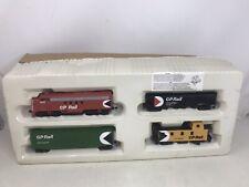 Bachmann HO Scale CP Rail Canadian Pacific Locomotive 1412 Train Set