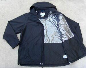 Columbia interchange OMNI TECH / OMNI HEAT waterproof Rain Jacket Men's L Black