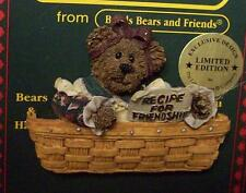 BOYDS LONGABERGER PIN, RECIPE FOR FRIENDSHIP
