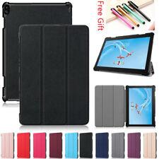 Para Lenovo Tab 4 8/5 de 10 Plus P10 E10 M10 Tablet Case Delgada Inteligente Pliegue de la cubierta de Shell