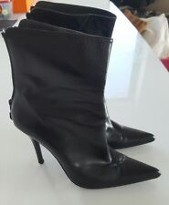ALMOST NEW STUART WEITZMAN LEATHER BOOTS SZ 7M