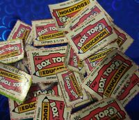 100 BOX TOPS FOR EDUCATION - BTFE - NONE EXPIRED all 2020 dates 💖