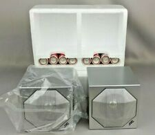 JVC Vintage Pair of Mini Speaker S-A3 Amplifier Japan Shelf Bookend New