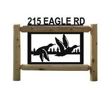 Personalized Duck Hunting Sign -Ducks Unlimited - Clingermans Signs - Waterfowl
