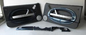 Genuine MINI 3 Piece Dashboard & Door Card Trim Kit (Checkmate) R50 R53 R52 LCI
