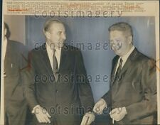 1961 Businessmen John Murchison & Charles Ireland Jr  Press Photo