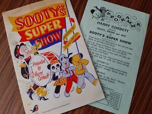 Sooty and Sweep Puppet Theatre Memorabilia Harry Corbett programme TV 60s