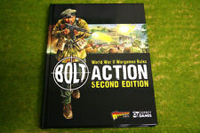 Bolt Action 2nd Edition Rulebook Warlord Games 28mm