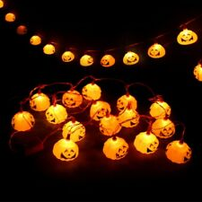 Durable LED Pumpkin Holiday Decoration String Lights Night Light For Halloween