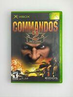 Commandos 2: Men of Courage - Original Xbox Game - Complete & Tested