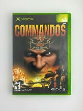 Commandos 2: Men of Courage - Original Xbox Game - Complete & Tested