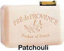 Pre de Provence French Soap PATCHOULI Scent Case of 12 x 250 gram XL Bath Bars