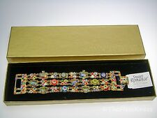 SWEET ROMANCE Millefiori Triple Bracelet - Discontinued, New in Box