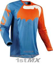 Fox Flexair hifeye Azul Naranja Offroad MX Motocross Raza Jersey adultos Pequeño
