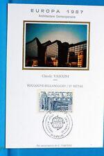 FRANCE CPA   Carte Postale Maximum ARCHITECTURE CLAUDE VASCONI Yt 2471 C