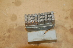 Model Mark 8mm Number punches/stamps
