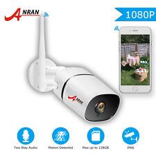 ANRAN Wireless IP Security Camera 2mp HD Outdoor 2way Audio CCTV WiFi System Aus