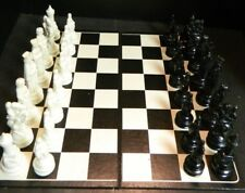 """Vintage Medieval Themed Weighted Plastic Chess Pc. 4.63"""" King  V. Good-Excellent"""