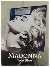 MADONNA - TRUE BLUE USA press vinyl record plaka