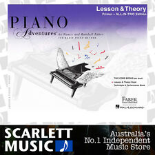 Piano Adventures 2nd Edition - All in Two Lesson & Theory Book Primer Faber