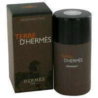 Terre D'Hermes by Hermes 2.5 oz 75 ml Deodorant Stick for Men New in Box