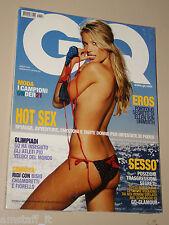 VERONIKA VAREKOVA COVER MAGAZINE=BRUCE WEBER=ELLEN VON UNWERTH=GQ 2004 AGOSTO=