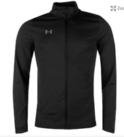 Under Armour Challenger Tracksuit boys  black zip up size: YLG  *14
