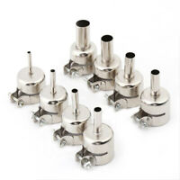 8pcs Heat Gun Nozzle Hot Air Gun Heat Resisting Nozzles Tips:3/4/5/6/7/8/10/12mm